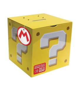 Tirelire sonore Super Mario Question Block