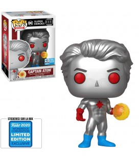 Pop! Captain Atom 2020 Wondrous Convention Edition Limitée [333]