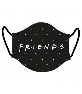Masque Tissu Logo Friends