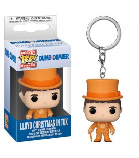 Pocket Pop! Keychain - Lloyd Christmas in Tux