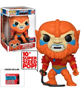 Pop! Beast Man Super Sized 2020 Fall Convention Edition Limitée [1039]