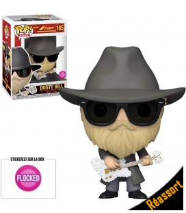 Pop! Dusty Hill (Flocked) [165]