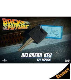 Réplique 1:1 Clé de la DeLorean