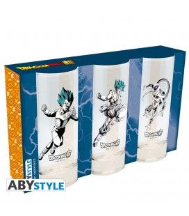 Set de 3 Verres Dragon Ball