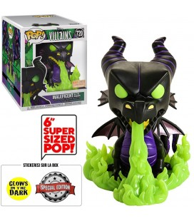 Pop! Maleficent (As The Dragon) Oversized GITD Edition Limitée [720]