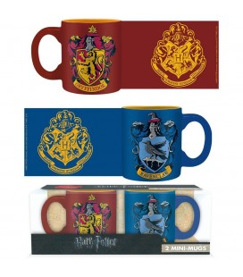 Set de 2 Minis Mugs Gryffondor et Serdaigle
