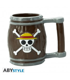 Mug 3D Tonneau One Piece