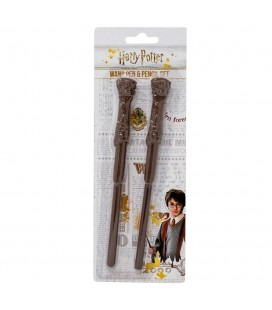 Set Baguettes Harry Potter Stylo + Crayon