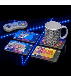 Sous-Verres Super Nintendo