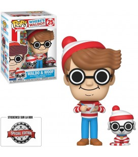 Pop! Waldo & Woof (Charlie) Edition Limitée [25]