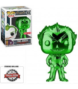 Pop! The Joker Chrome Green Edition Limitée [53]