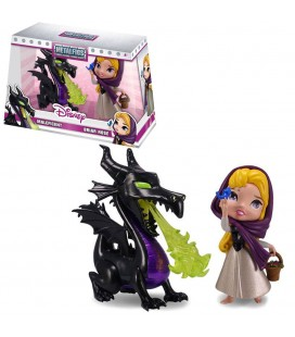 Maleficent & Briar Rose MetalFigs