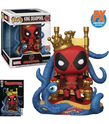 Pop! Deluxe King Deadpool Edition Limitée [724]