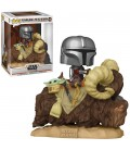 Pop! Deluxe The Mandalorian & The Child On Bantha [416]
