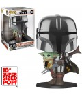Pop! The Mandalorian with The Child Super Sized [380]