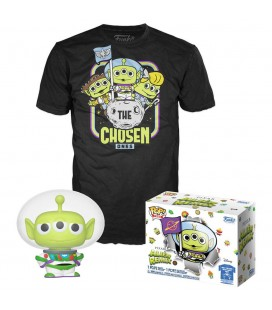 Pop! Buzz Lightyear (Alien Remix) (Exclusive GITD) & T-Shirt