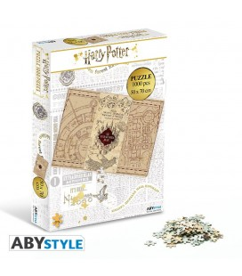 Puzzle Harry Potter Carte du Maraudeur (1000)