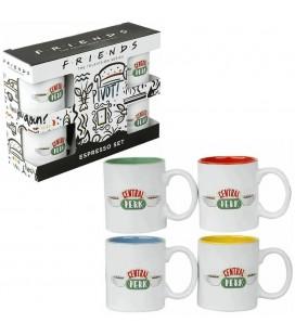 Pack 4 tasses Espresso Central Perk