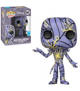 Pop! Disney Artist Series Jack Skellington (Pop! Stacks incluse) [05]