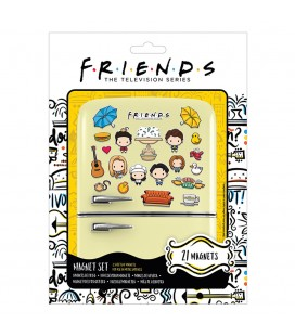 Set de 21 Magnets Chibi Friends