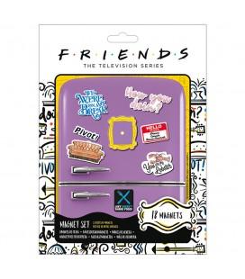 Set de 18 Magnets How You Doin' Friends