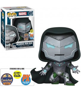 Pop! Infamous Iron Man GITD Edition Limitée 30000 Exemplaires [677]