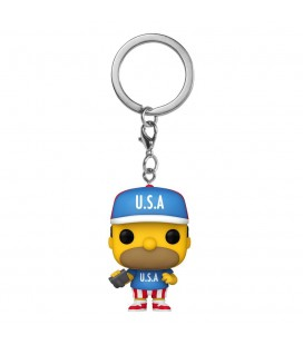 Pocket Pop! Keychain - Homer USA