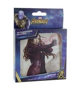 Sous-Verres Lenticular Avengers Infinity War