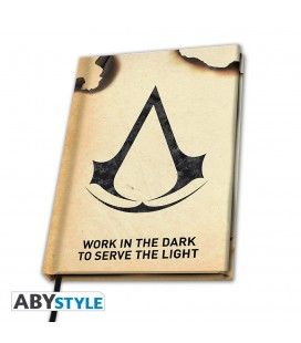 Cahier Assassin's Creed Crest A5