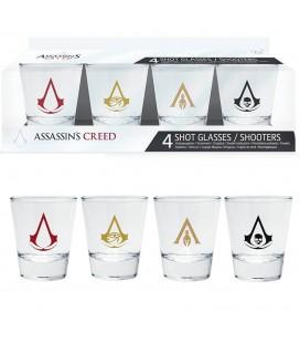 Verres Shooters Emblèmes Assassin's Creed