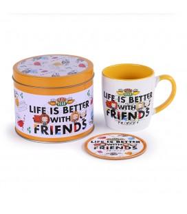 Coffret Life Is Better Chibi Friends