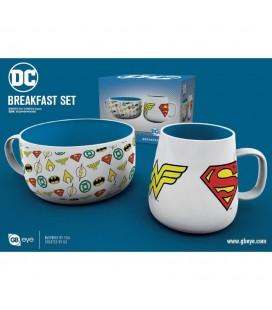 Coffret Dc Comics Logos