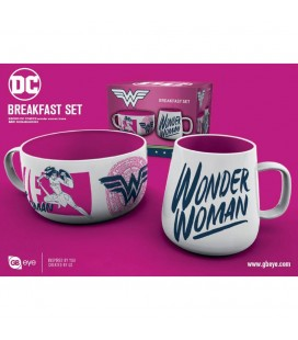 Coffret Breakfast Wonder Woman Brave