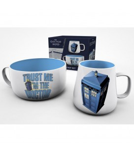 Coffret Breakfast Tardis