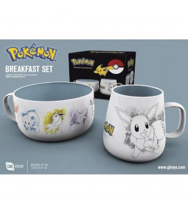 Coffret Breakfast Eevee Evolutions