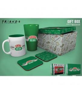 Coffret Central Perk Mug + verre + Sous Verre