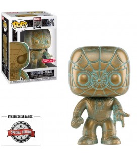 Pop! Spider-Man Patina Edition Limitée [495]