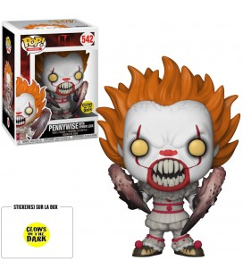 Pop! Pennywise (with Spider Legs) GITD Edition Limitée [542]