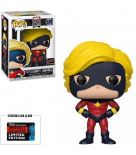 Pop! Captain Marvel (Mar-Vell) NYCC 2019 Edition Limitée [526]