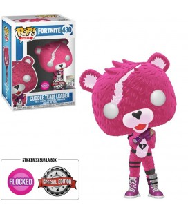 Pop! Cuddle Team Leader (Flocked) Edition Limitée [430]