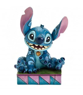Statuette Stitch Ohana Means - Disney Traditions