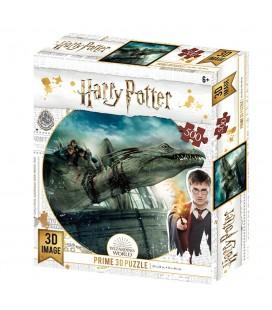Puzzle Lenticulaire 3D Gringotts Dragon (500)