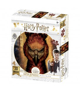 Puzzle Lenticulaire 3D Fawkes (300)