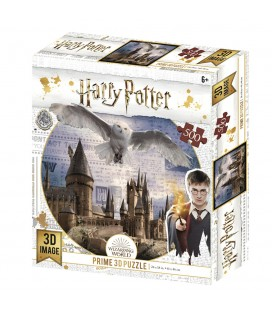 Puzzle Lenticulaire 3D Hedwig Flying (500)