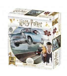 Puzzle Lenticulaire 3D Ford Anglia (500)
