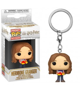 Pocket Pop! Keychain - Hermione Granger Holiday