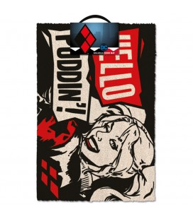 Paillasson Hello Puddin'! Harley Quinn