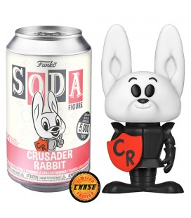 Soda! Crusader Rabbit Edition Limitée 5000 Exemplaires