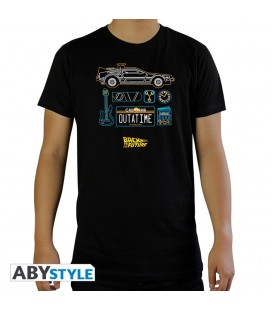 T-shirt Delorean Outatime