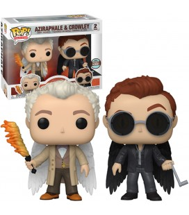 Pop! Aziraphale & Crowley Specialty Series Edition Limitée [2-Pack]